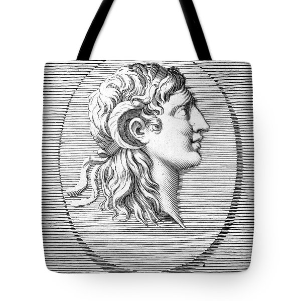 Alexander The Great (356-323 B.c.) Tote Bag by Granger
