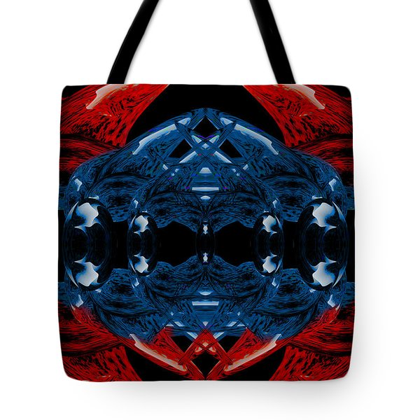 Alien Bauble Tote Bag by Christopher Gaston
