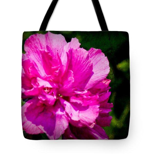 Althea Blossom Tote Bag by Barry Jones