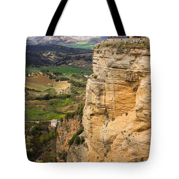 Andalusia Landscape Tote Bag by Artur Bogacki