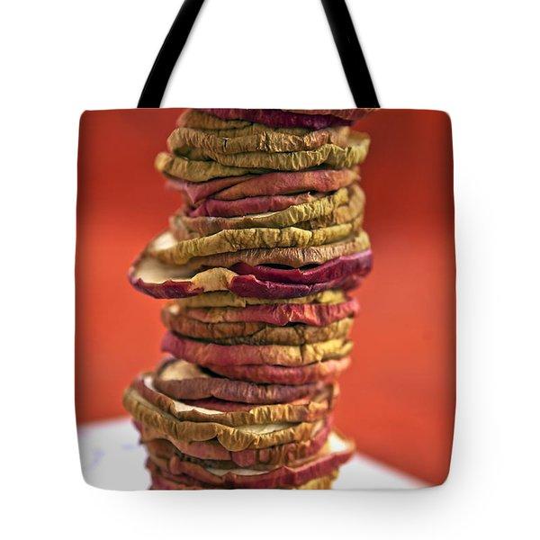Apple Chips Tote Bag by Joana Kruse