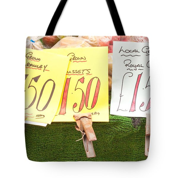 Apples Tote Bag by Tom Gowanlock