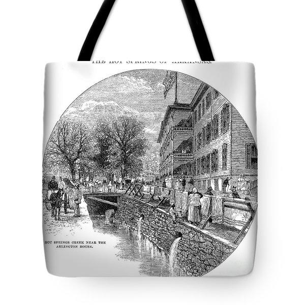Arkansas: Hot Springs Tote Bag by Granger