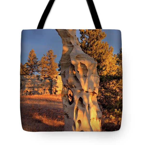Art In Nature Tote Bag by Leland D Howard
