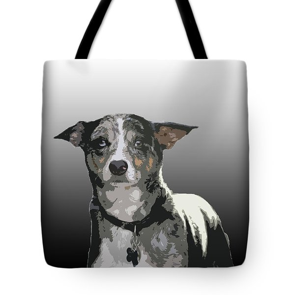 Australian Cattle Dog Sheltie Mix Tote Bag by One Rude Dawg Orcutt