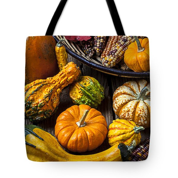 Autumn Still Life Tote Bag by Garry Gay