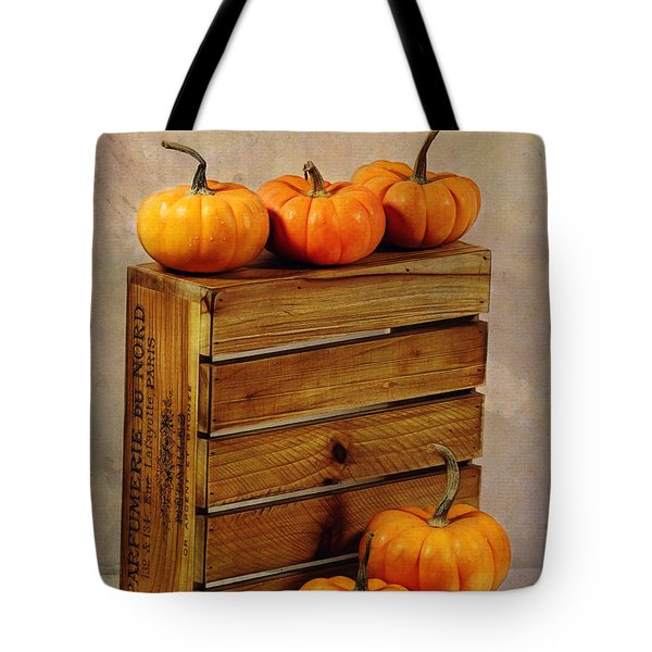 Autumn Still Life Tote Bag by Judi Bagwell