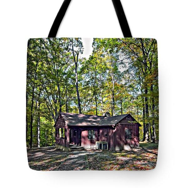 Babcock Cabin Tote Bag by Steve Harrington