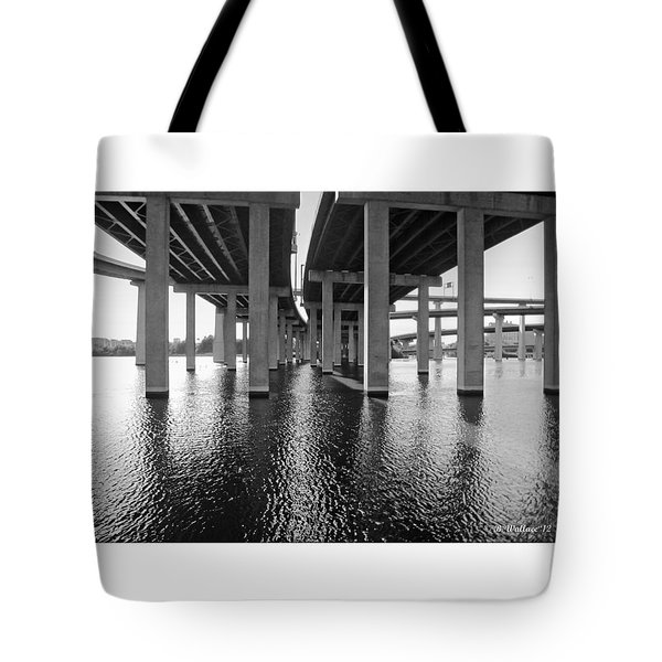 Baltimore By-pass Tote Bag by Brian Wallace
