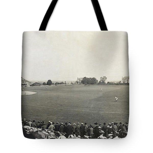 Baseball Game, 1904 Tote Bag by Granger