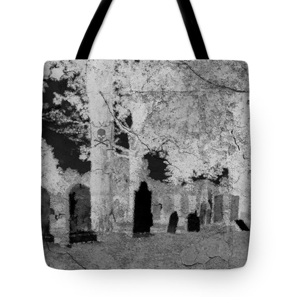 Be Afraid... Tote Bag by Rhonda Barrett