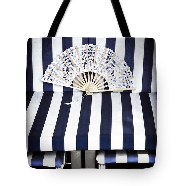 Beach Chair Tote Bag by Joana Kruse