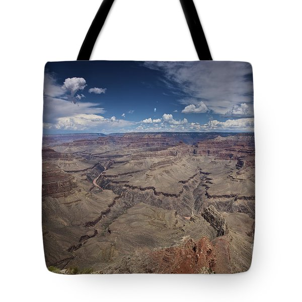 Beautiful Vista Of Grand Canyon Tote Bag by Terry Moore