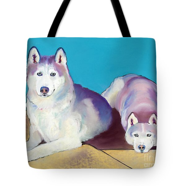 Best Buddies Tote Bag by Pat Saunders-White