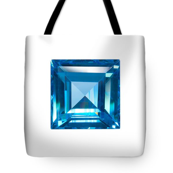 blue sapphire isolated Tote Bag by ATIKETTA SANGASAENG