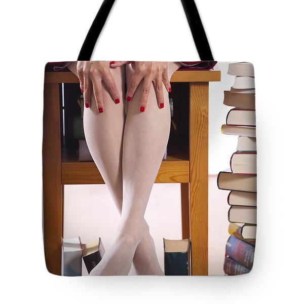 Books Tote Bag by Joana Kruse
