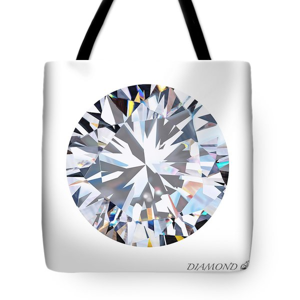 brilliant diamond Tote Bag by Setsiri Silapasuwanchai