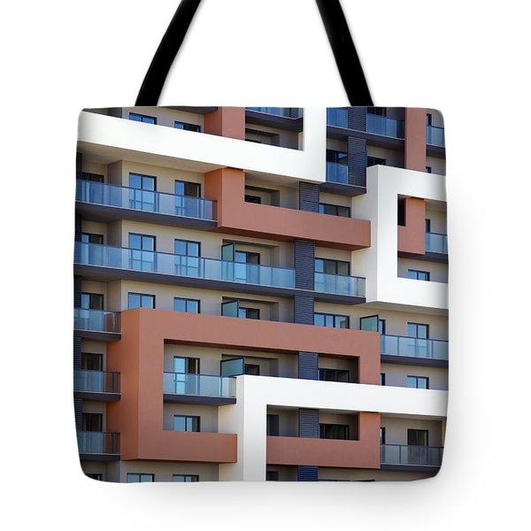 Building Facade Tote Bag by Carlos Caetano
