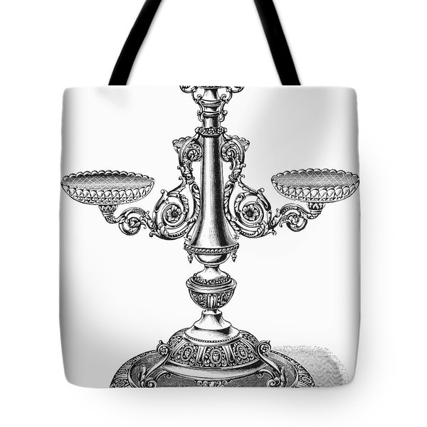 Candelabra Tote Bag by Granger