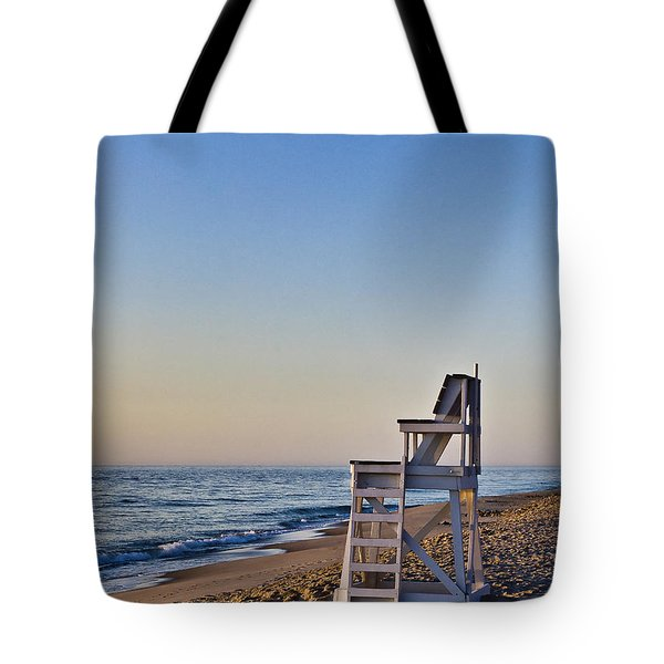 Cape Cod Lifeguard Stand Tote Bag by John Greim