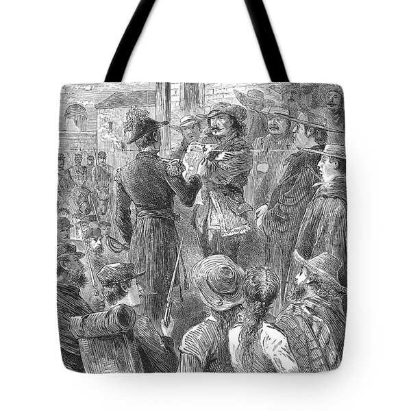 Capture Of Santa Fe, 1846 Tote Bag by Granger