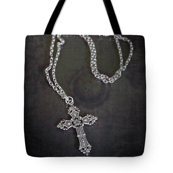 Celtic Cross Tote Bag by Joana Kruse