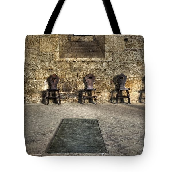 Chairs Tote Bag by Joana Kruse
