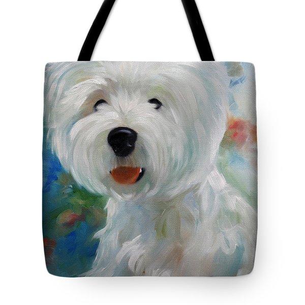 Cherubino Tote Bag by Mary Sparrow