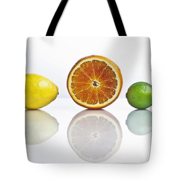 citrus fruits Tote Bag by Joana Kruse
