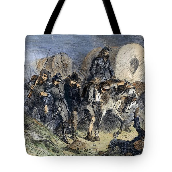 Civil War: Shiloh, 1862 Tote Bag by Granger