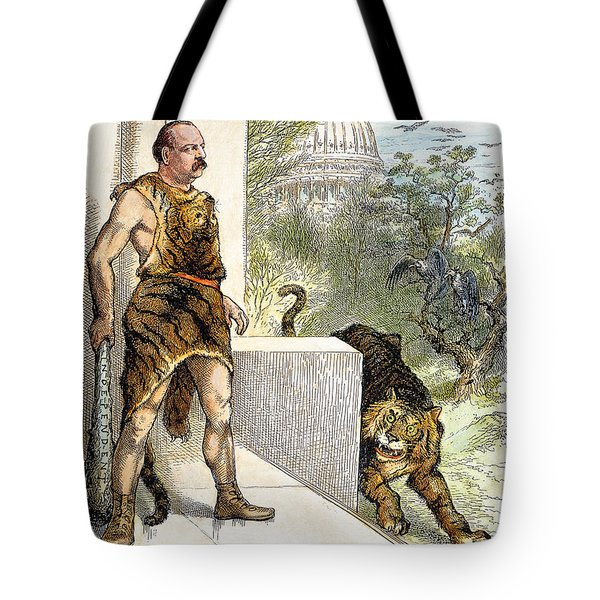 Cleveland Cartoon, 1884 Tote Bag by Granger
