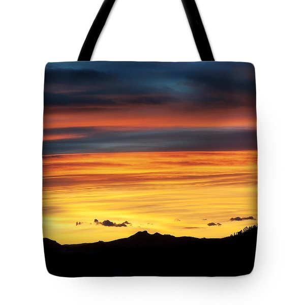 Colorado Sunrise Tote Bag by Beth Riser