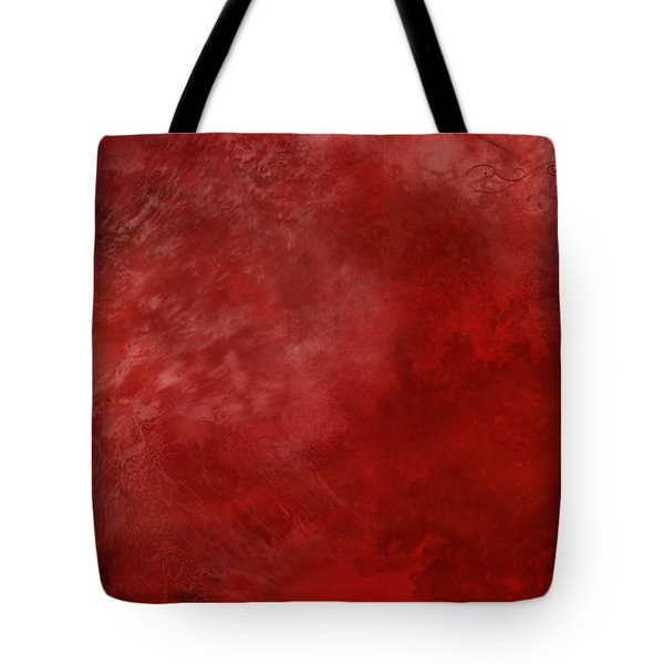 Crimson China Tote Bag by Christopher Gaston