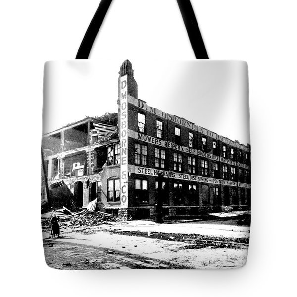 Cyclone Damage, 1896 Tote Bag by Science Source