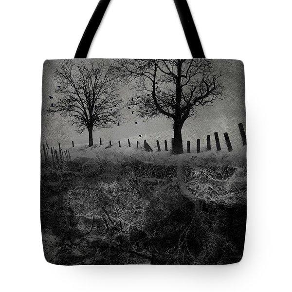 Dark Roost Tote Bag by Ron Jones