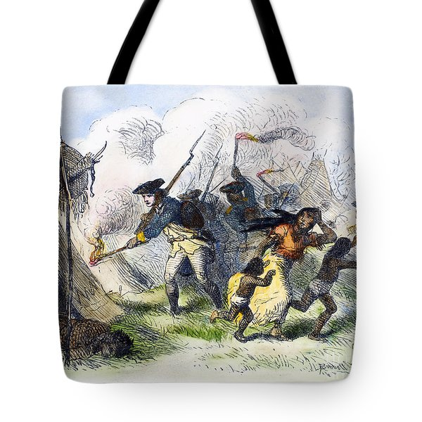 Destroying Villages, 1791 Tote Bag by Granger