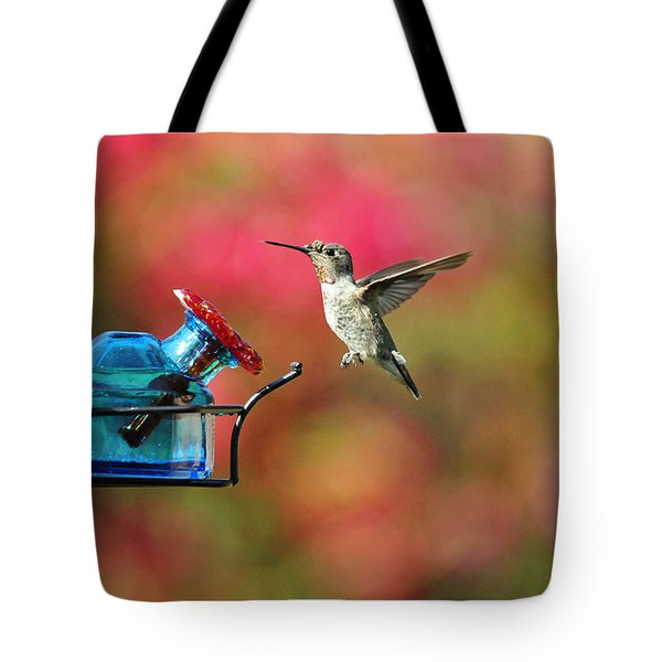 Dropping In Tote Bag by Lynn Bauer