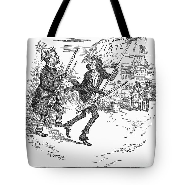 Election Cartoon, 1884 Tote Bag by Granger