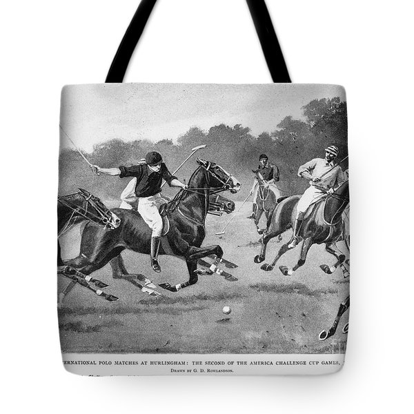 England: Polo, 1902 Tote Bag by Granger