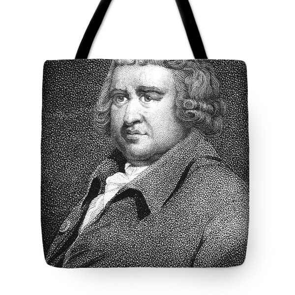 Erasmus Darwin, English Polymath Tote Bag by Science Source
