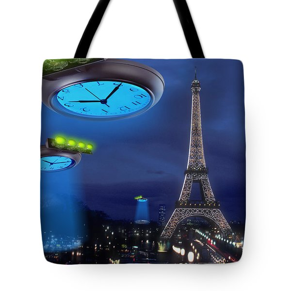 European Time Traveler Tote Bag by Mike McGlothlen