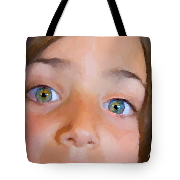 Eyes Have It Tote Bag by Chuck Staley