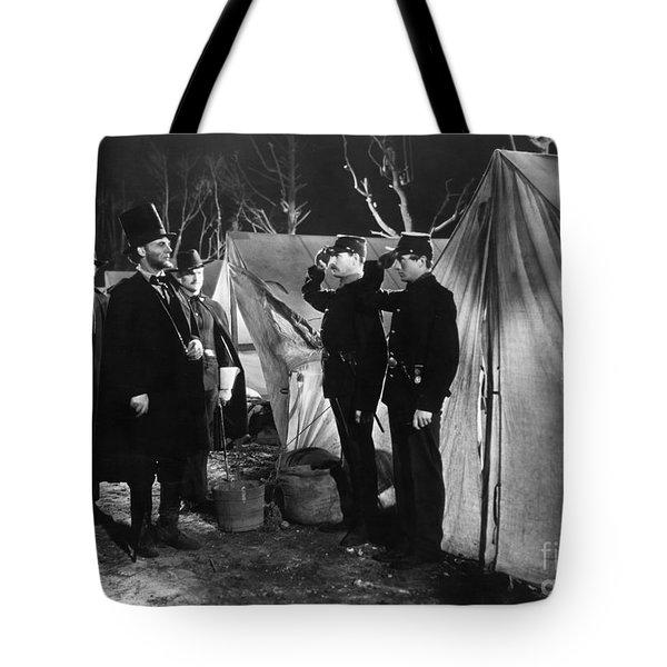 Film Still: Abraham Lincoln Tote Bag by Granger
