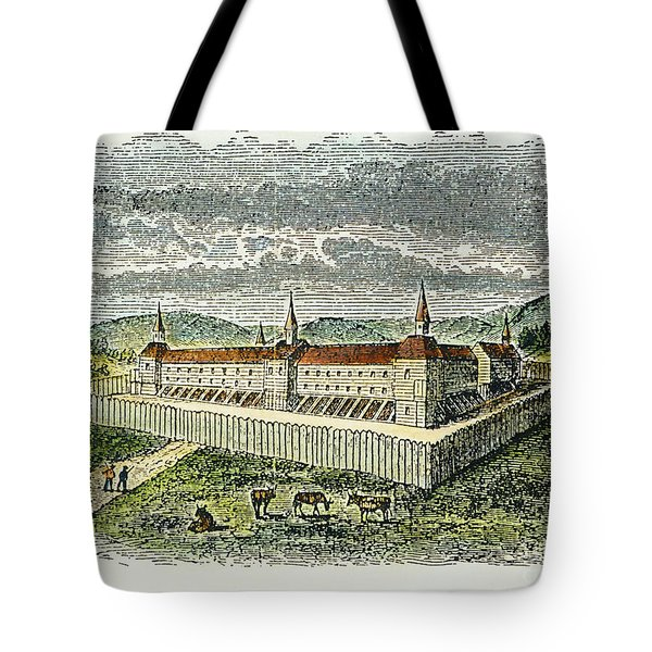 Fort Marietta, Ohio, C1790 Tote Bag by Granger
