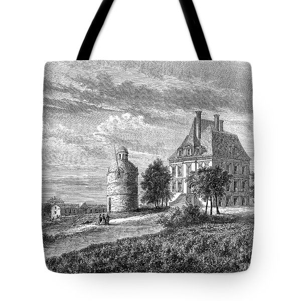 France: Wine Ch�teau, 1868 Tote Bag by Granger