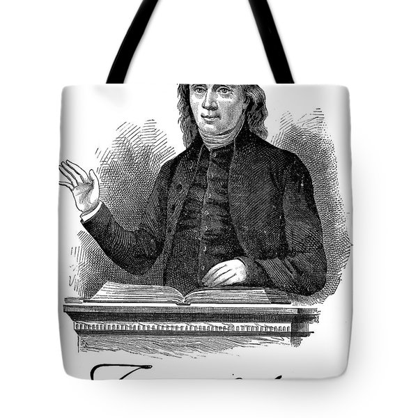 Francis Asbury (1745-1816) Tote Bag by Granger