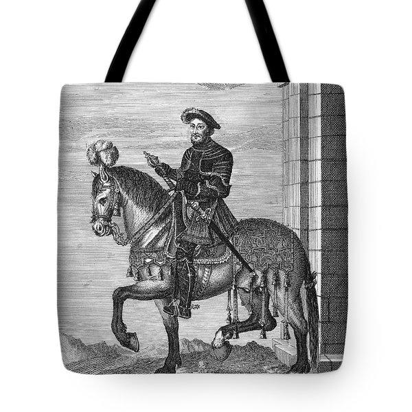 Francis I (1494-1547) Tote Bag by Granger