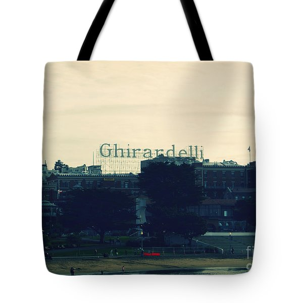 Ghirardelli Square Tote Bag by Linda Woods