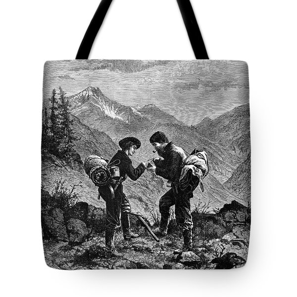 Gold Prospectors, 1876 Tote Bag by Granger