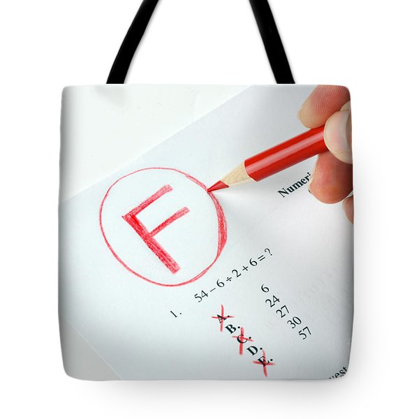 Grading Tote Bag by Photo Researchers, Inc.